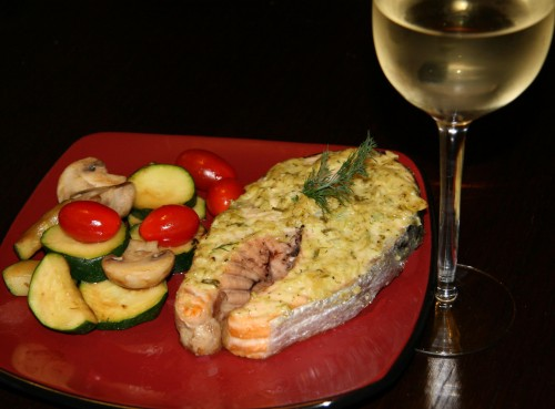 Garlic and Dill Salmon Recipe